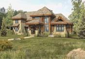 Hybrid Log Home. Hybrid Homes · Lodge Log Home Floor Plan