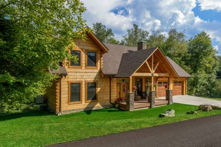 McKenrick Log Home Floor Plan From Appalachian Log Structures