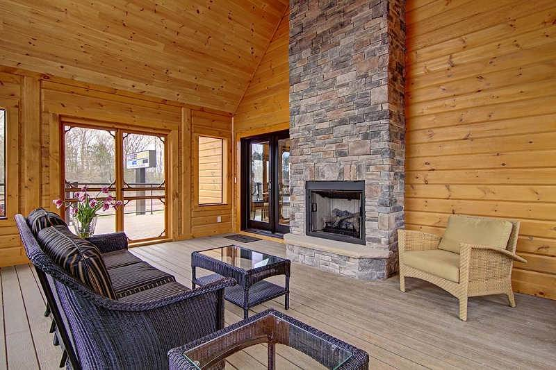 Denver Log Home Floor Plan By Timber Block Log Homes