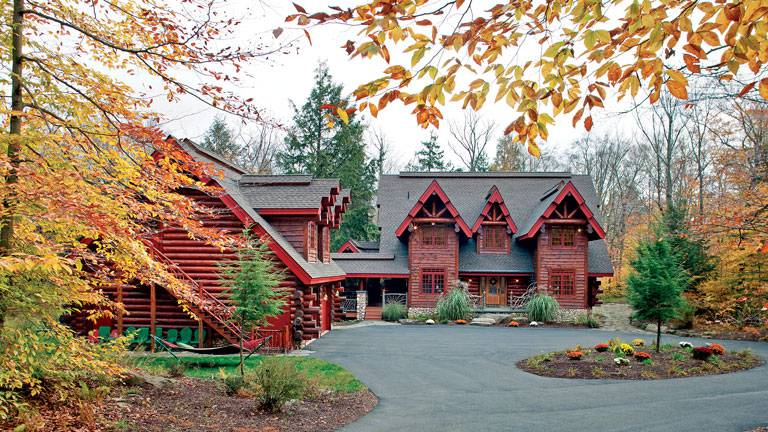 The Adirondack Style Log Cabin With Rustic Refinement