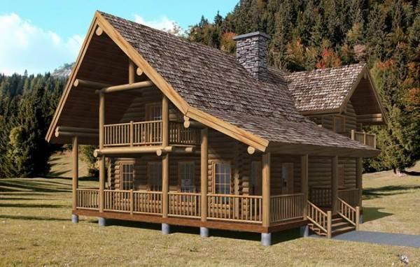 Alaska Home Plan By Yellowstone Log Homes