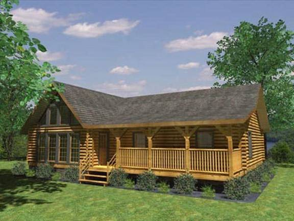 Log Cabin Floor Plans | Small Log Homes | Page 2