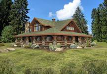 Ranch House Plans Log Home Ranches